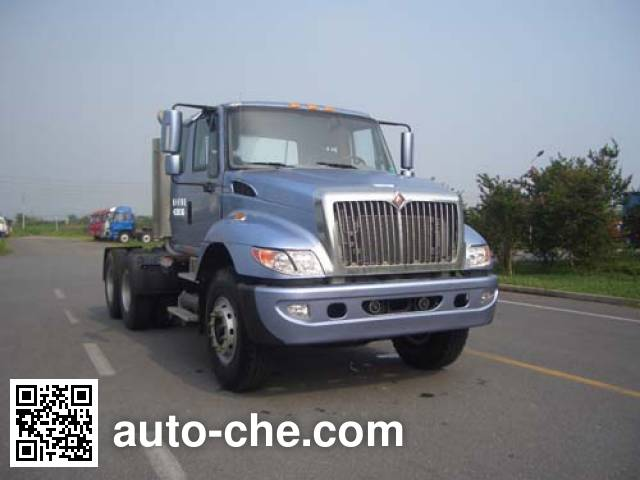 Jinggong ZJZ4255DCZ5AZ3 container carrier vehicle