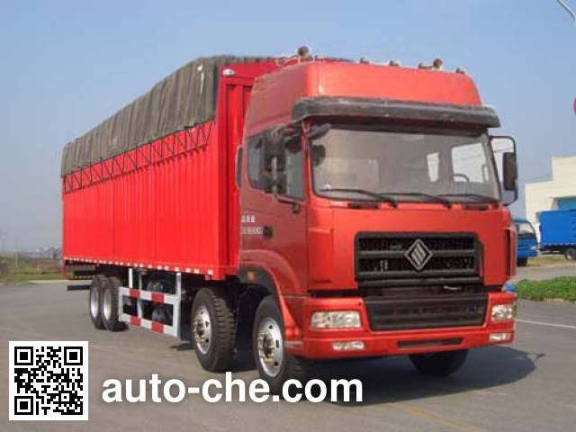Jinggong ZJZ5310CPYDPT7AZ3 soft top box van truck