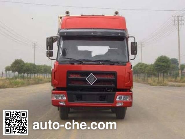 Jinggong ZJZ5310XXYDPT7AZ3 box van truck
