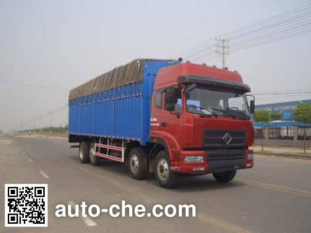 Jinggong ZJZ5313CPYDPT7AZ3 soft top box van truck