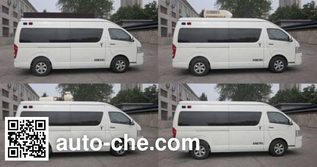 Yutong ZK5031XSP1 judicial vehicle
