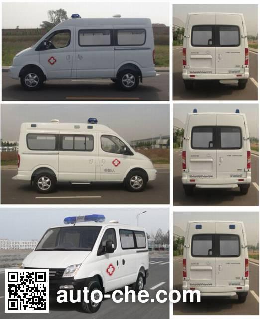 宇通牌ZK5046XJH15救护车