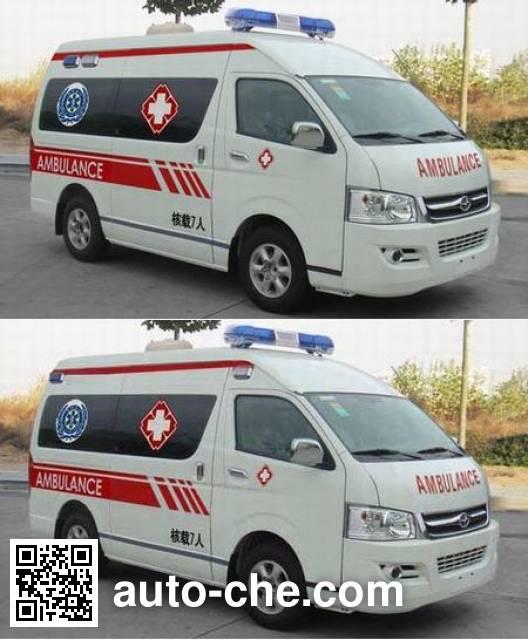 宇通牌ZK5038XJH1救护车