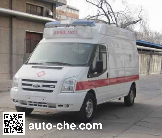 宇通牌ZK5041XJH1救护车