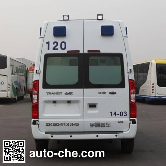 宇通牌ZK5041XJH5救护车