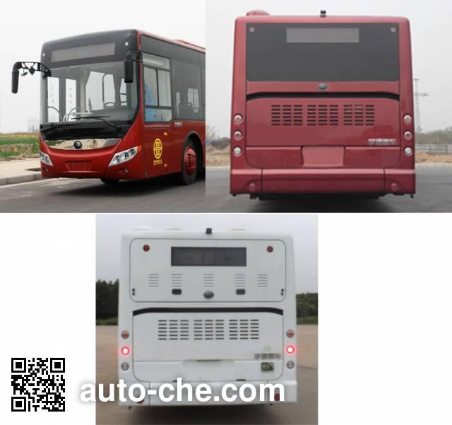 宇通牌ZK6105CHEVNPG11混合动力城市客车