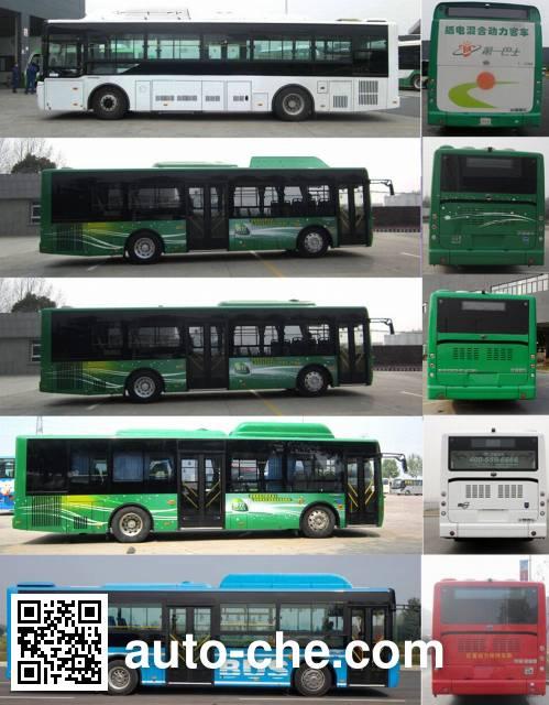 Yutong ZK6105CHEVNPG21 hybrid city bus