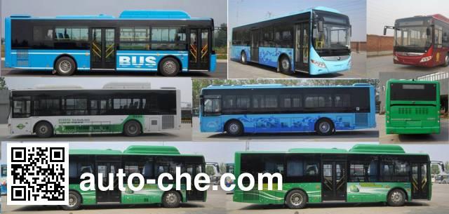 宇通牌ZK6105CHEVNPG25混合动力城市客车
