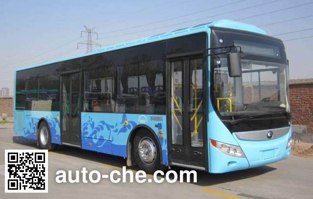 宇通牌ZK6105CHEVNPG52混合动力城市客车