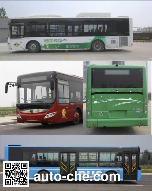 宇通牌ZK6105CHEVPG21A混合动力城市客车