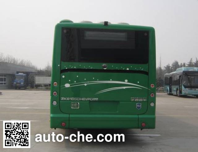 宇通牌ZK6105CHEVPG22混合动力城市客车