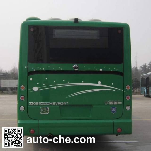 宇通牌ZK6105CHEVPG41混合动力城市客车