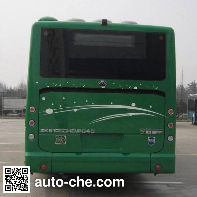 宇通牌ZK6105CHEVPG45混合动力城市客车