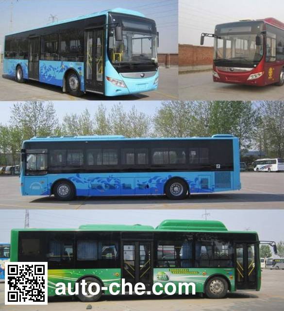 Yutong ZK6105PHEVNPG3 hybrid city bus