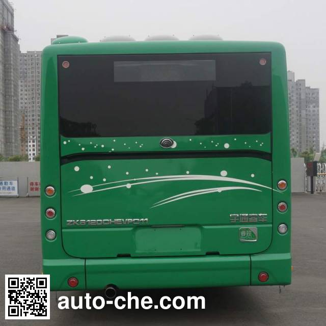 宇通牌ZK6120CHEVPG11混合动力城市客车