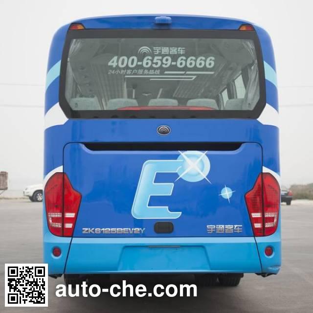 宇通牌ZK6125BEV2Y纯电动客车