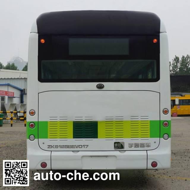 宇通牌ZK6125BEVG17纯电动城市客车