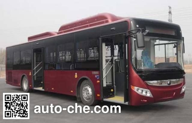 宇通牌ZK6125CHEVNG3混合动力城市客车