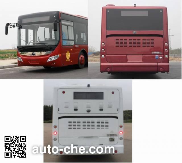 宇通牌ZK6125CHEVNPG11混合动力城市客车