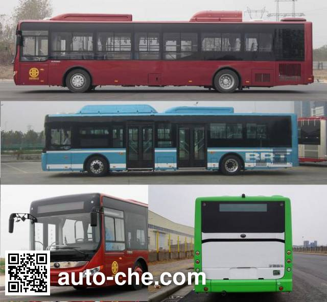 Yutong ZK6125CHEVNPG21 hybrid city bus