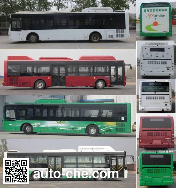 Yutong ZK6125CHEVNPG21A hybrid city bus