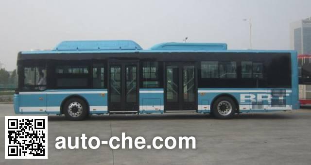 宇通牌ZK6125CHEVNPG4混合动力城市客车