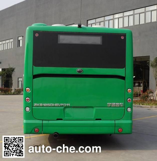宇通牌ZK6125CHEVPG11混合动力城市客车