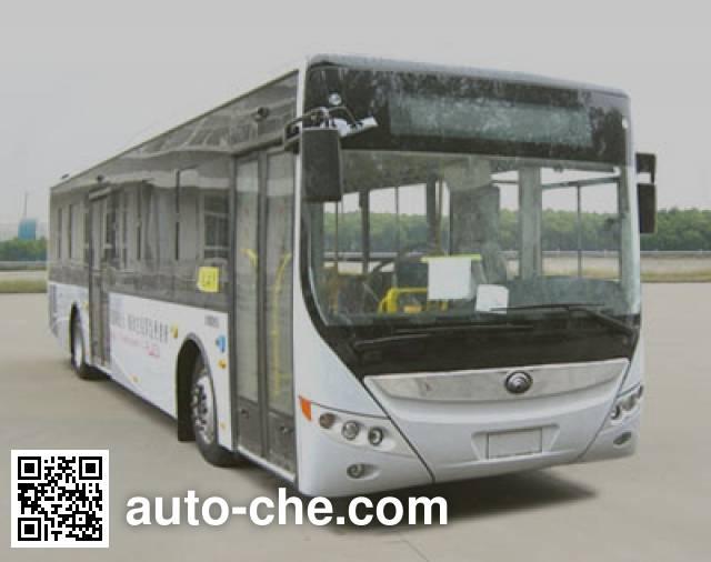 宇通牌ZK6125CHEVPG2混合动力城市客车