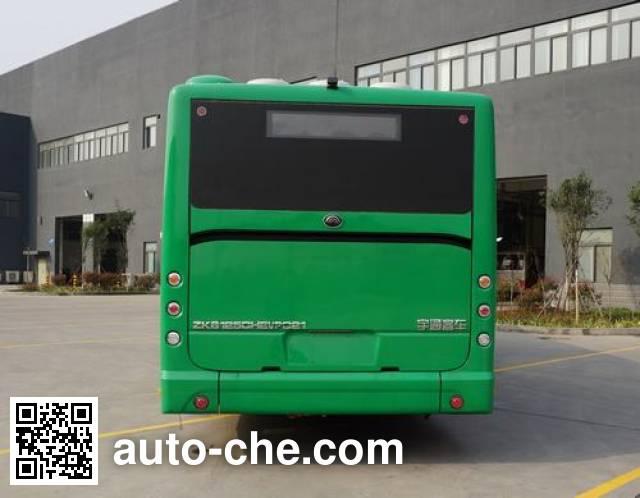 宇通牌ZK6125CHEVPG21混合动力城市客车