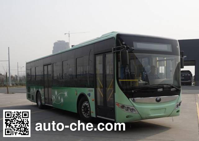 宇通牌ZK6125CHEVPG23混合动力城市客车