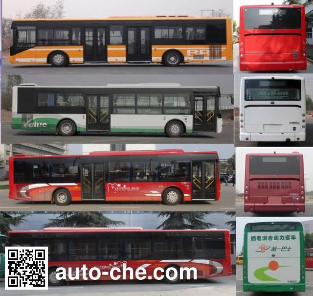 宇通牌ZK6125CHEVPG41混合动力城市客车