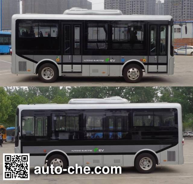 宇通牌ZK6650BEVG1纯电动城市客车