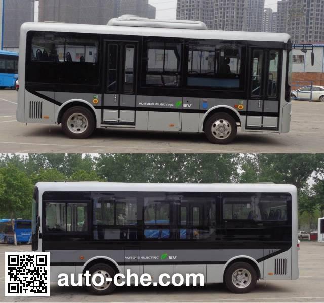 宇通牌ZK6650BEVG6纯电动城市客车