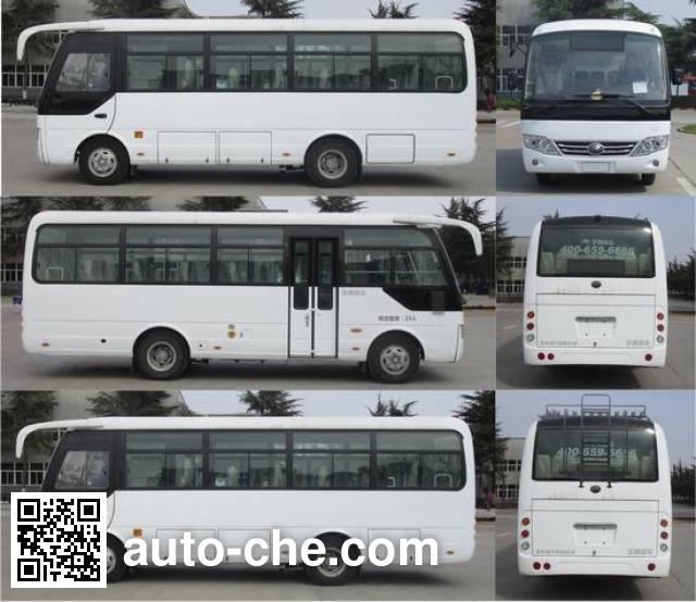 宇通牌ZK6729D1客车