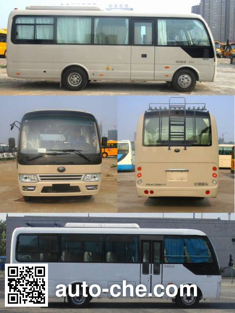 宇通牌ZK6729DT1客车
