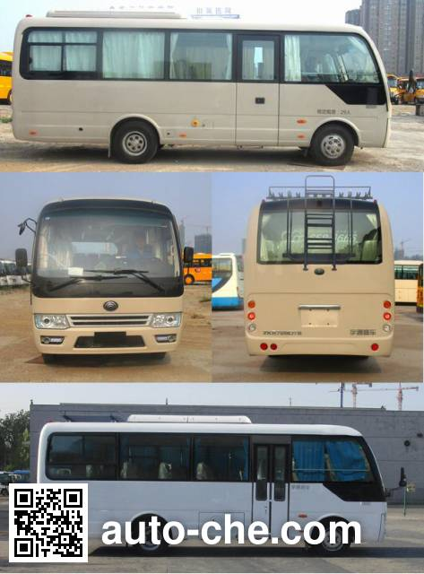 Yutong ZK6729DT2 bus
