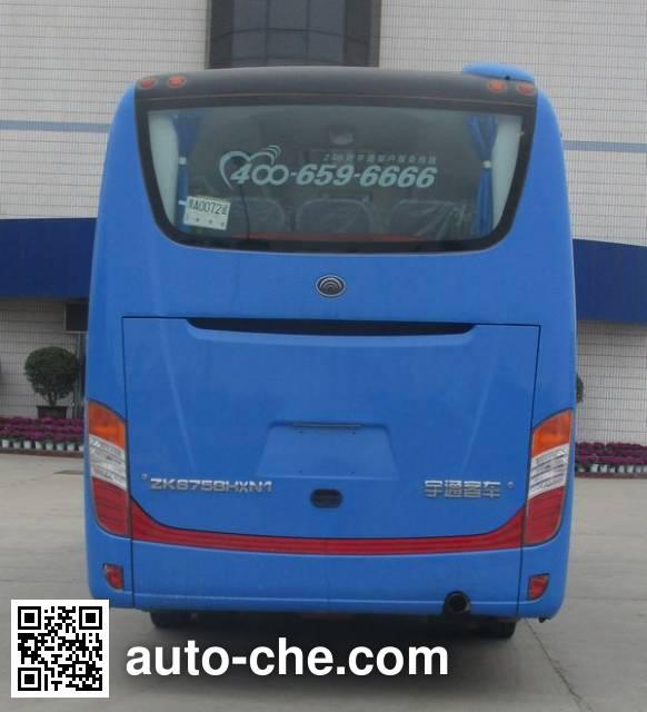 宇通牌ZK6758HXN1客车