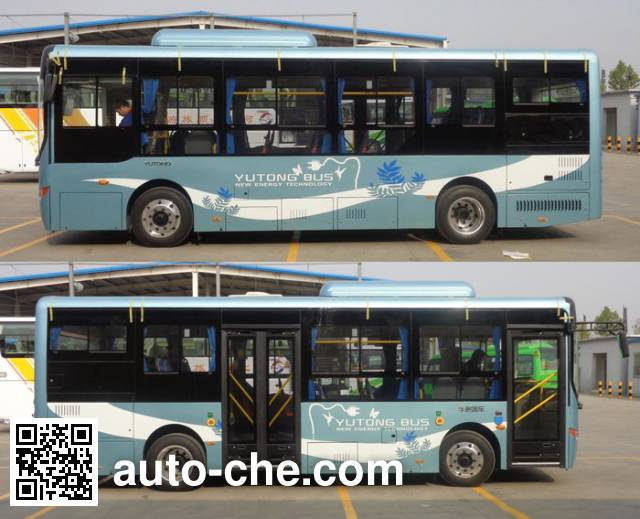 宇通牌ZK6805BEVG5纯电动城市客车