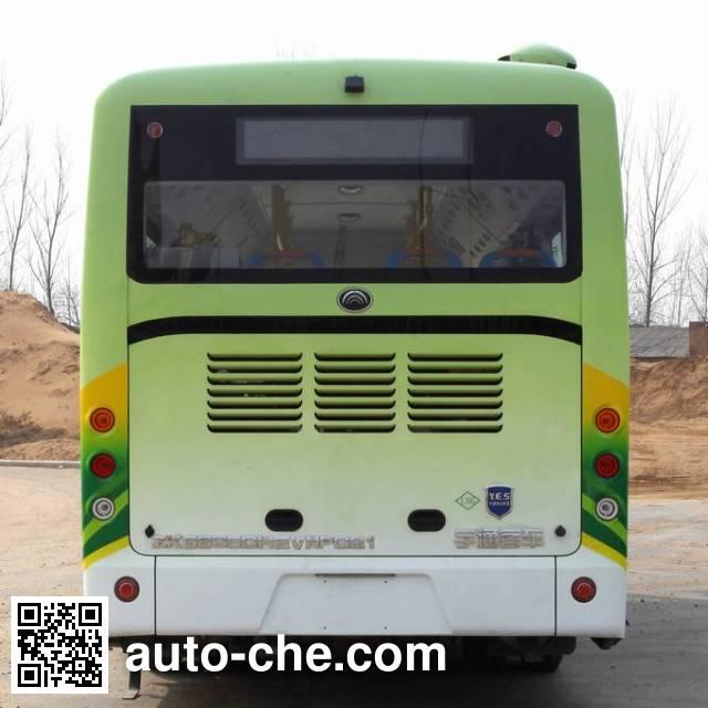 Yutong ZK6825CHEVNPG21 hybrid city bus