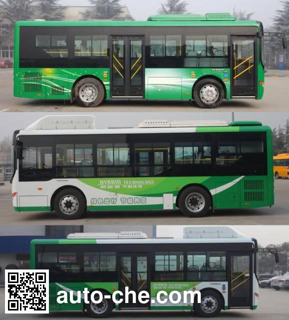 Yutong ZK6825CHEVPG21 hybrid city bus