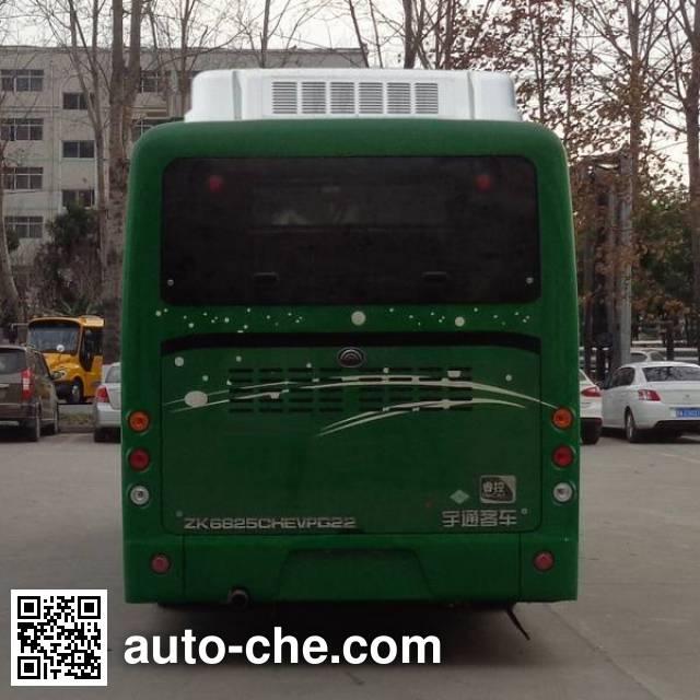 宇通牌ZK6825CHEVPG22混合动力城市客车