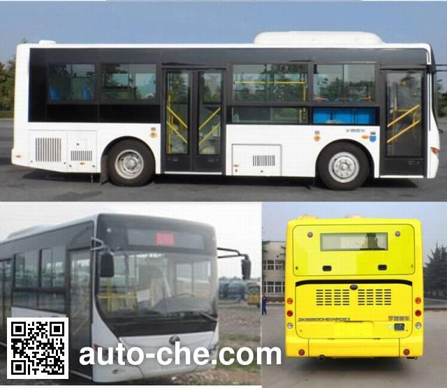 宇通牌ZK6850CHEVNPG23混合动力城市客车
