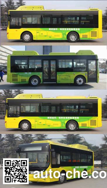 Yutong ZK6850CHEVNPG26 hybrid city bus