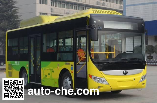 宇通牌ZK6850CHEVPG21混合动力城市客车