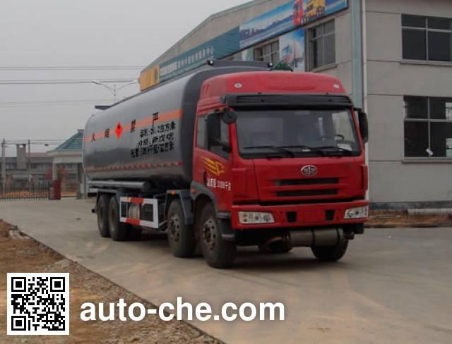 Zhongshang Auto ZL5310GHY chemical liquid tank truck