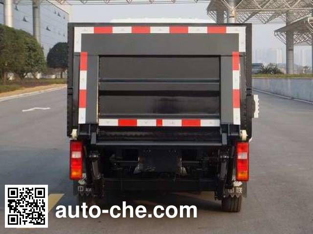 Zoomlion ZLJ5020CTYHFBEV electric garbage container transport truck