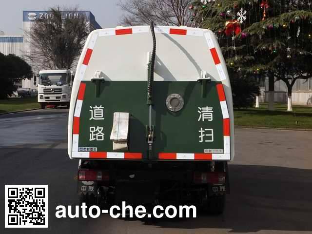 Zoomlion ZLJ5030TSLZLBEV electric street sweeper truck