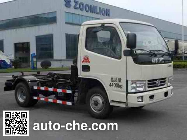 Zoomlion ZLJ5040ZXXDFE4 detachable body garbage truck