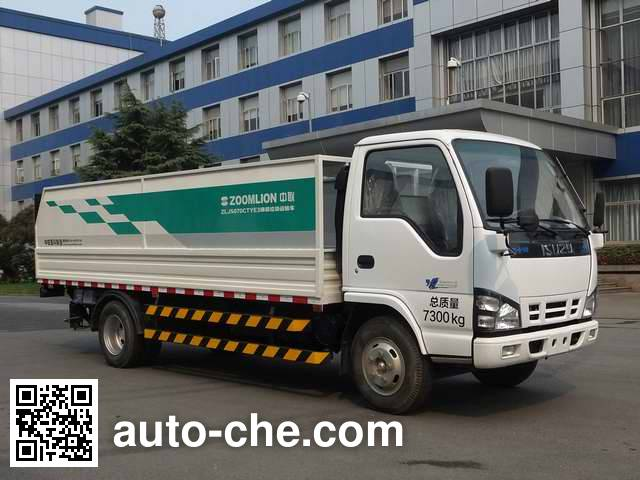 Zoomlion ZLJ5070CTYE3 trash containers transport truck