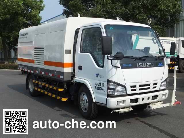 Zoomlion ZLJ5070GQXQLE4 highway guardrail cleaner truck